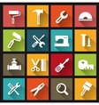 Computer icons tools vector image