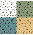 lumberjack pattern vector image