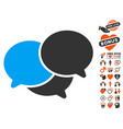 webinar icon with love bonus vector image
