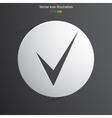 check web icon vector image