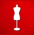 mannequin icon vector image