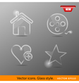 icons Class style vector image vector image