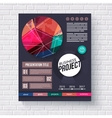 Stylish modern Business Project infographic vector image
