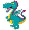 Dragon cartoon vector image