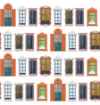 flat colorful windows seamless pattern vector image