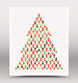 Happy Christmas Hand Made Poster vector image vector image