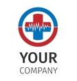 Medical logo vector image