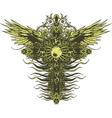 Gothic cross vector image