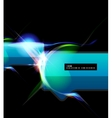 Lightning abstract vector image vector image