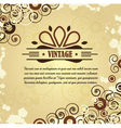 Swirly Background vector image vector image