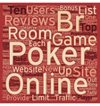 online poker reviews 1 text background wordcloud vector image