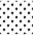 clover leaf pattern vector image
