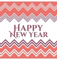 Happy New Year Christmas frame vector image
