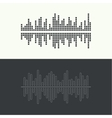 Music sound wave vector image