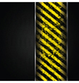Metal and grunge stripes background vector image