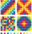 colorful design elements vector image