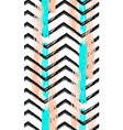 geometric art print abstract modern and trendy vector image