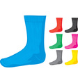 Sock collections vector image vector image