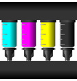 Ink levels vector image vector image