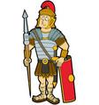 roman legionary vector image