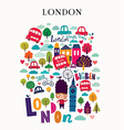 London2 vector image