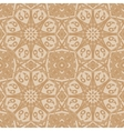 Mandala seamless pattern Floral ethnic abstract vector image