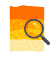soil science icon vector image