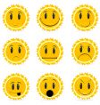 variations in moods vector image vector image