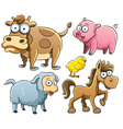 Baby Animals Collection vector image vector image