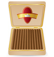 Cigar 05 vector image