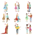 Adult Couples In Love vector image