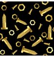 screws and nuts background vector image vector image