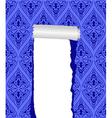 torn wallpaper vector image vector image