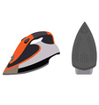 Clothes iron vector image