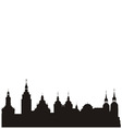 historical city vector image vector image