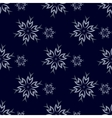 Dark Snowflakes Background vector image