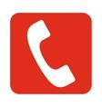 digital phone icon vector image