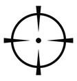radar screen icon simple style vector image