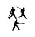 Baseball Bat Retro vector image vector image