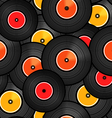 Records background vector image vector image