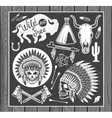 Wild West Sets vector image