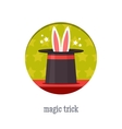 Magic trick icon vector image