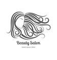 Beauty salon logo vector image