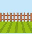 green grass icon vector image
