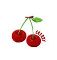 logo icon design strawberry farm vector image