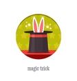 Magic trick icon vector image