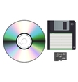 Storage Devices vector image