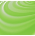 Abstract Glowing Green Waves vector image