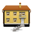 Computer House Concept vector image vector image