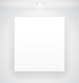 Blank Display vector image vector image